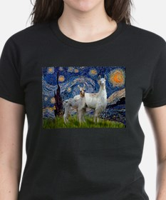 Starry Night Llama Duo Tee