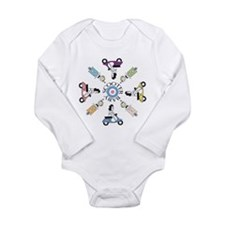 Cool Scooter Long Sleeve Infant Bodysuit