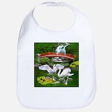 The Swan Family Bib