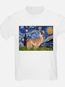 Starry Night Llama T-Shirt