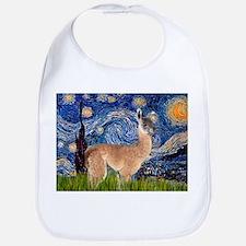 Starry Night Llama Bib