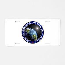 NATIONAL GEOSPATIAL-INTELLI Aluminum License Plate