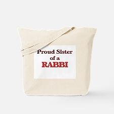 Proud Sister of a Rabbi Tote Bag