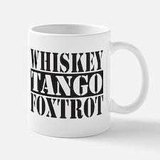 Whiskey Tango Foxtrot Mugs