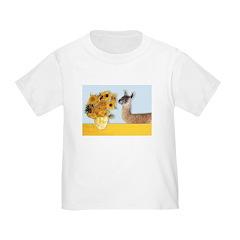 Sunflowers & Llama T