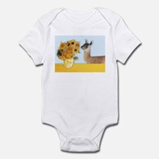 Sunflowers & Llama Infant Bodysuit