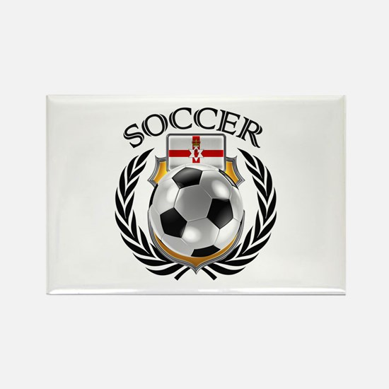 Northern Ireland Soccer Fan Magnets