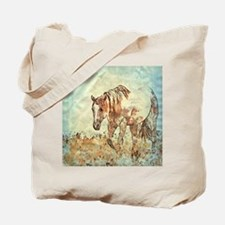 Cool Horse painting Tote Bag