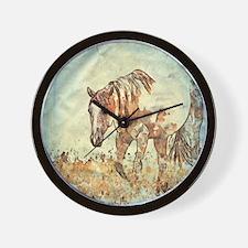 Funny Riding Wall Clock