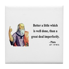 Plato 16 Tile Coaster