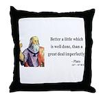Plato 16 Throw Pillow