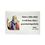 Plato 16 Rectangle Magnet (100 pack)