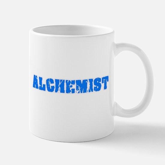 Alchemist Blue Bold Design Mugs