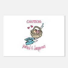Dangerous Knitter Postcards (Package of 8)