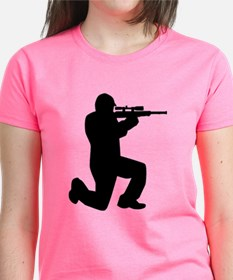 Airsoft Paintball player Tee