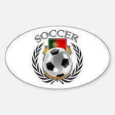 Portugal Soccer Fan Decal