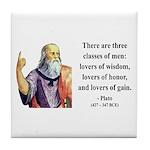 Plato 17 Tile Coaster
