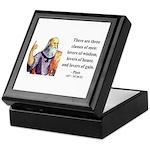 Plato 17 Keepsake Box