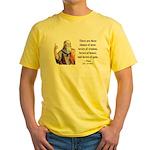 Plato 17 Yellow T-Shirt