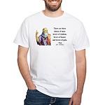 Plato 17 White T-Shirt