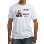 Plato 17 Fitted T-Shirt