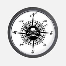 Cute Pirates Wall Clock