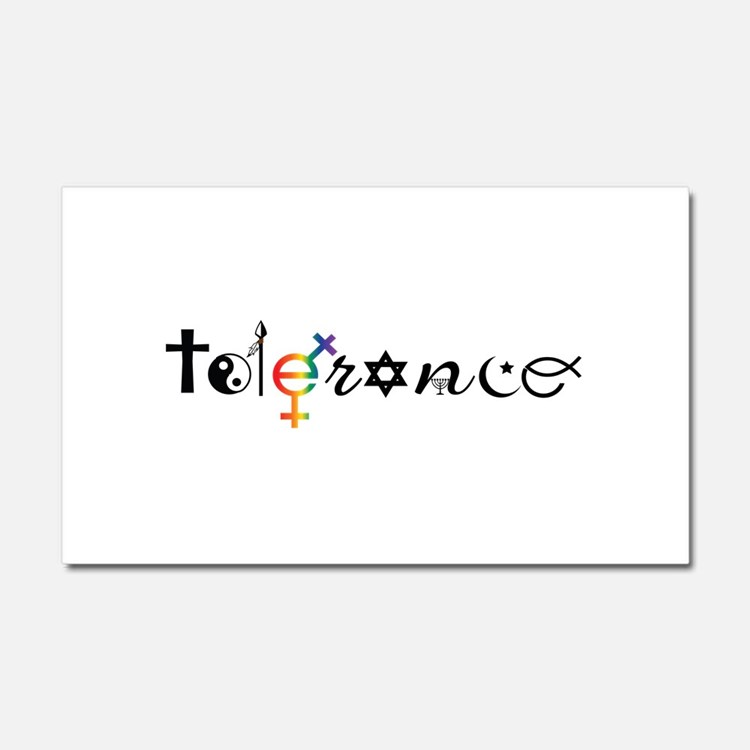 Tolerance Car Magnet 20 x 12