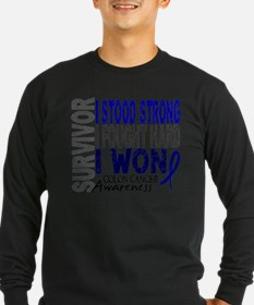 Cute Colon cancer survivor T