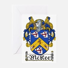 McKee Coat of Arms Greeting Cards (Pk of 20)