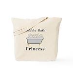Bubble Bath Princess Tote Bag