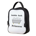 Bubble Bath Princess Neoprene Lunch Bag