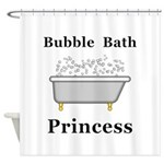 Bubble Bath Princess Shower Curtain