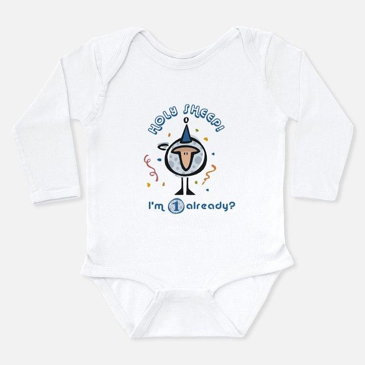 Cute Funny 2nd birthday Long Sleeve Infant Bodysuit