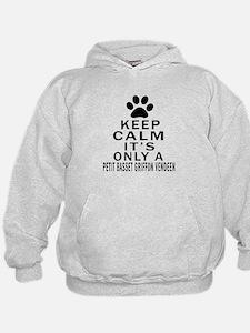 Petit Basset Griffon Vendeen Keep Calm Hoodie