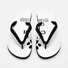 Petit Basset Griffon Vendeen Keep Calm Flip Flops