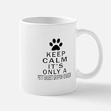 Petit Basset Griffon Vendeen Keep Calm Mug