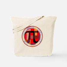 Artistic, Geometric Pi Tote Bag