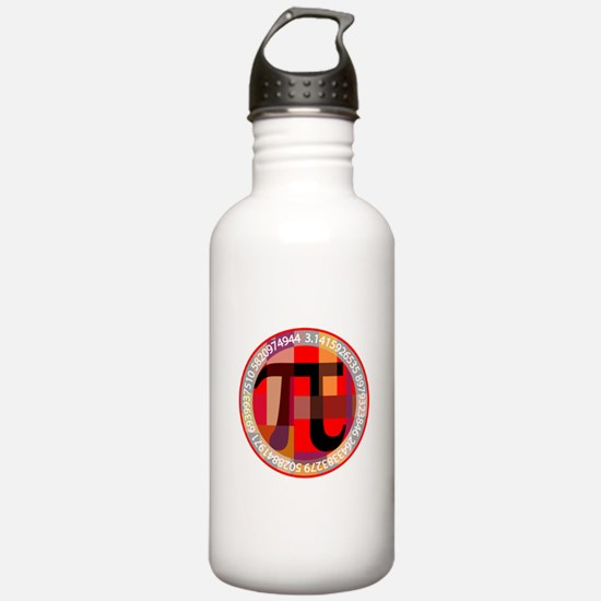 Artistic, Geometric Pi Water Bottle