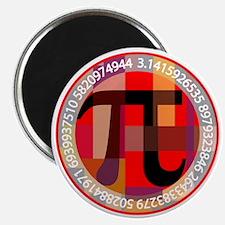Artistic, Geometric Pi Magnets
