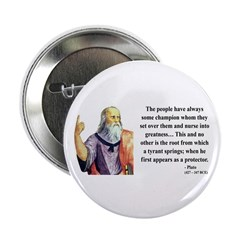 "Plato 18 2.25"" Button (100 pack)"