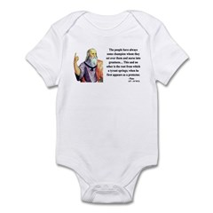 Plato 18 Infant Bodysuit
