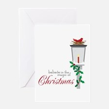 Magic Of Christmas Greeting Cards