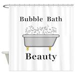 Bubble Bath Beauty Shower Curtain