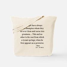 Plato 18 Tote Bag