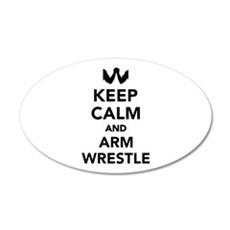 Keep calm and arm wrestle Wall Decal