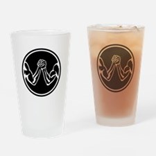 Arm wrestling Drinking Glass