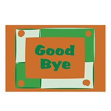 Good Bye Postcards (Package of 8)