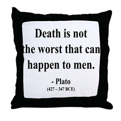 Plato 19 Throw Pillow