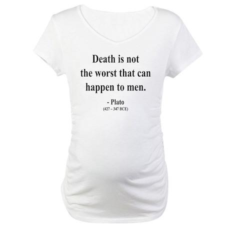 Plato 19 Maternity T-Shirt