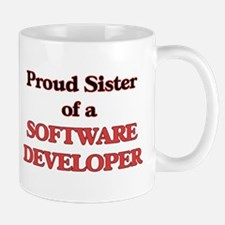 Proud Sister of a Software Developer Mugs